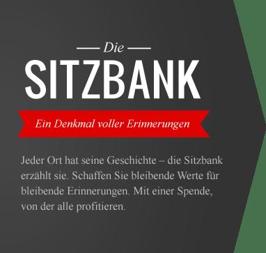 Die Sitzbank – Ein Denkmal voller Erinnerungen.